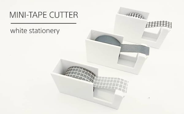 マスキングテープのカットにも使いやすいミニテープカッター