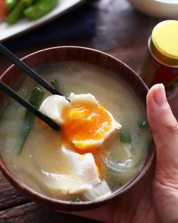 卵を スープ系おかず レシピ3
