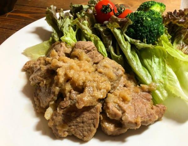 豚ヒレ肉のステーキ