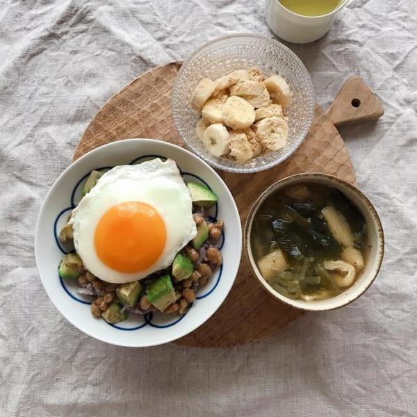 アボガド 腸活レシピ3
