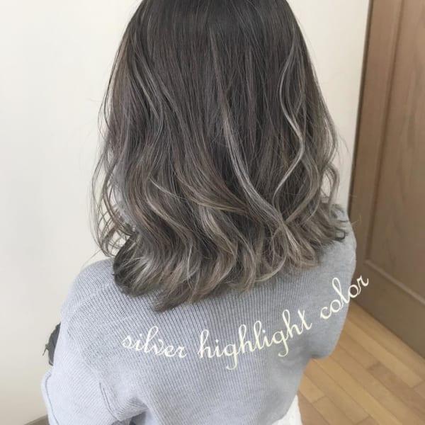 黒髪 グラデーション15