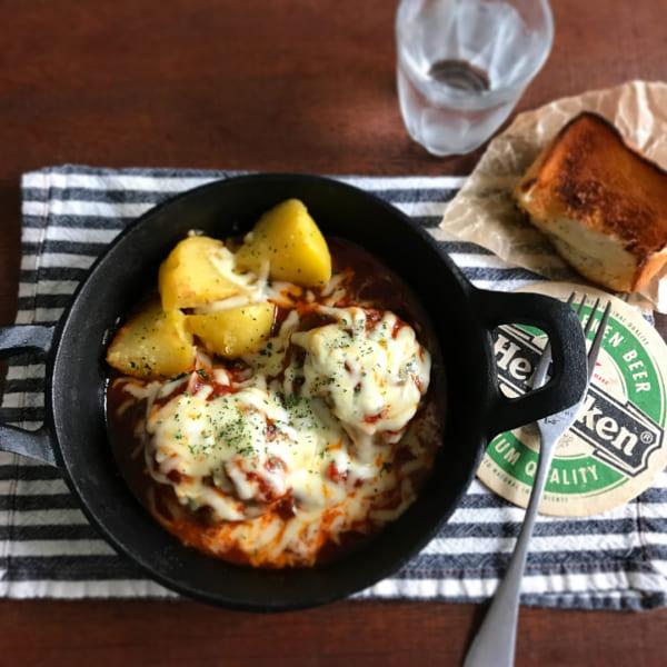 合挽き肉の簡単レシピ6
