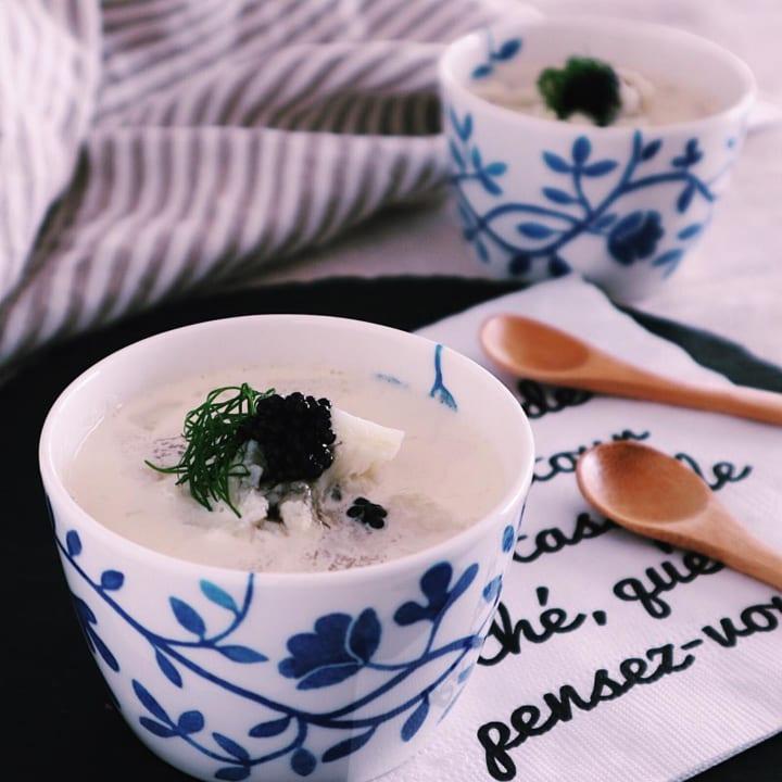 カリフラワーのミルクスープ