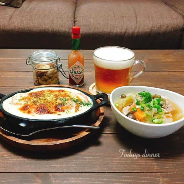 野菜ときのこの肉団子スープ
