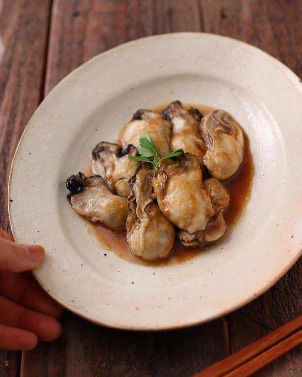 牡蠣のソテー