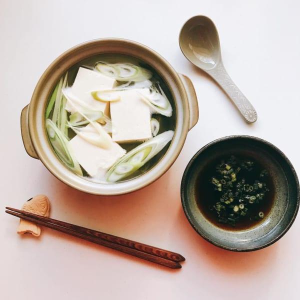 ぽかぽか!さっぱり湯豆腐