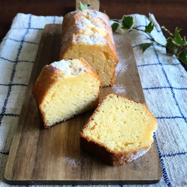 簡単ミルキーパウンドケーキ