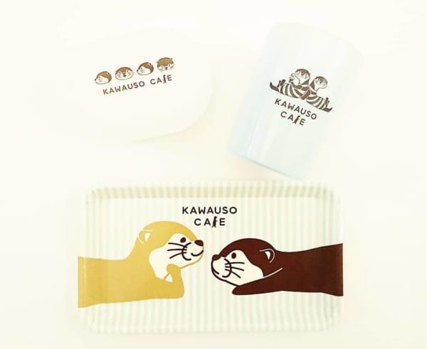 KAWAUSO CAFE洗面グッズ(キャンドゥ)