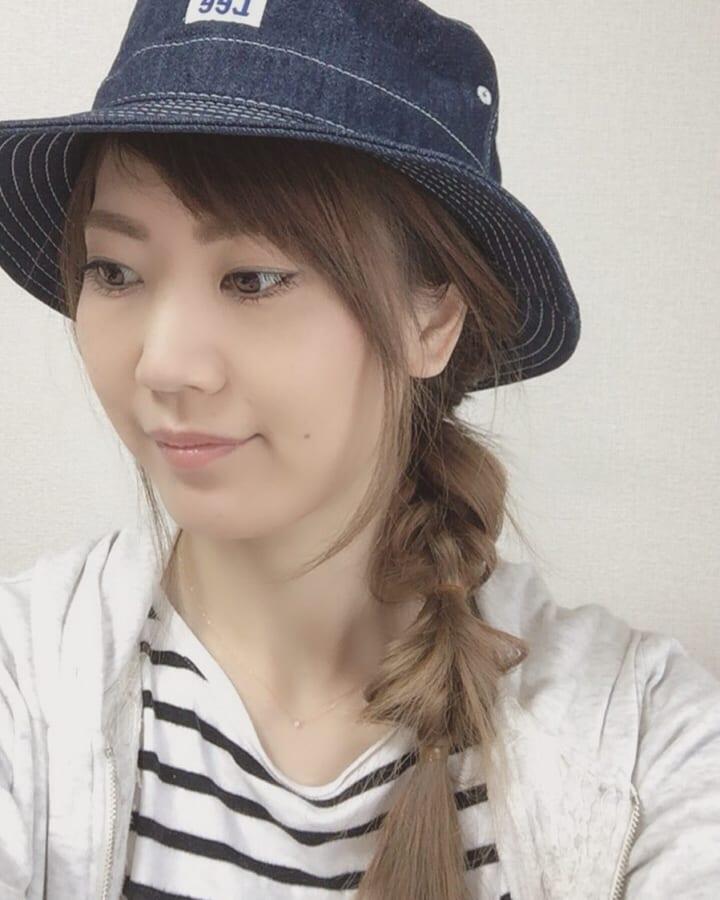 帽子×カジュアルファッション2