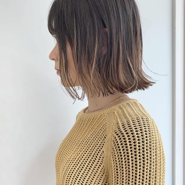 黒髪 グラデーション3