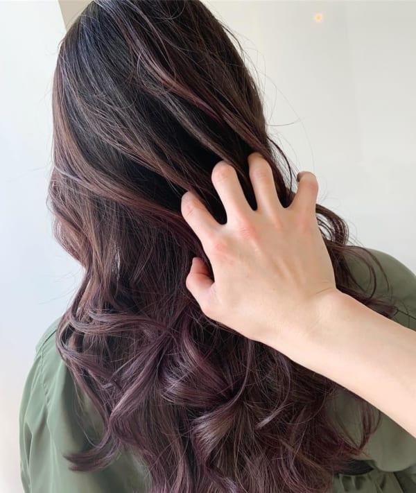 黒髪 グラデーション29