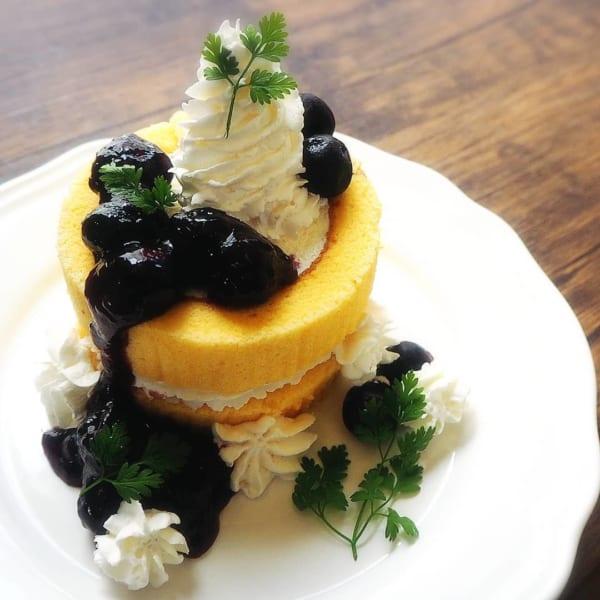 ロールケーキのアレンジレシピ