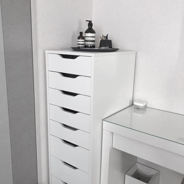 IKEAアイテムを使ったネックレス・アクセサリー収納3