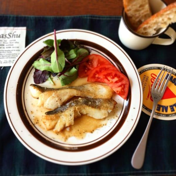 鱈のムニエルバター醤油
