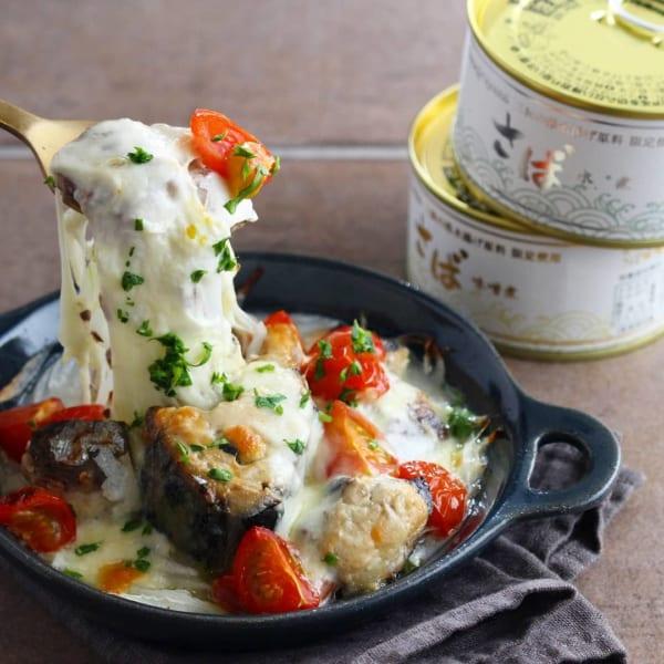 サバの缶詰で簡単アウトドア料理