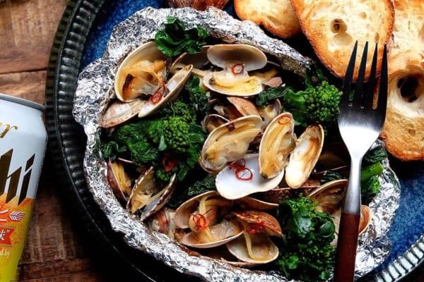 イタリアンな味付け!魚介のぺペロン風