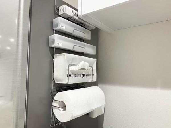 冷蔵庫サイドラック