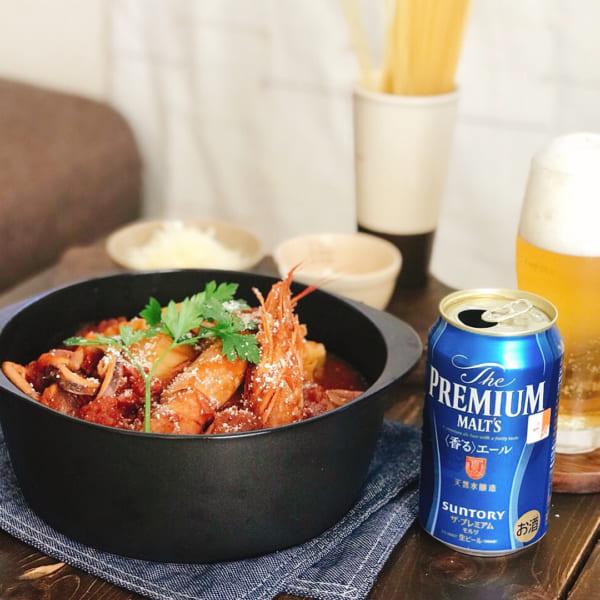 魚介トマト鍋