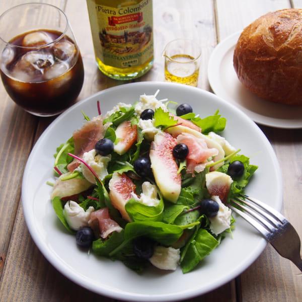 イチジクと生ハムのサラダ