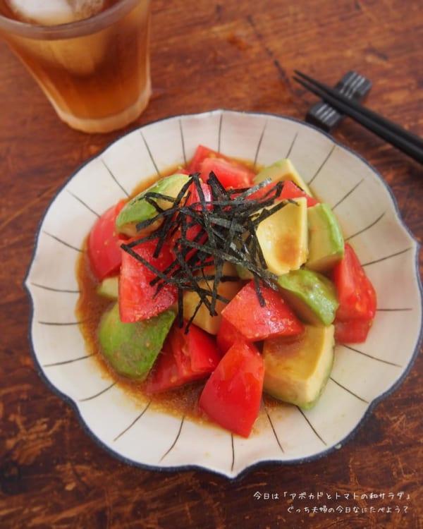 トマトの人気レシピ《前菜・サラダ》10