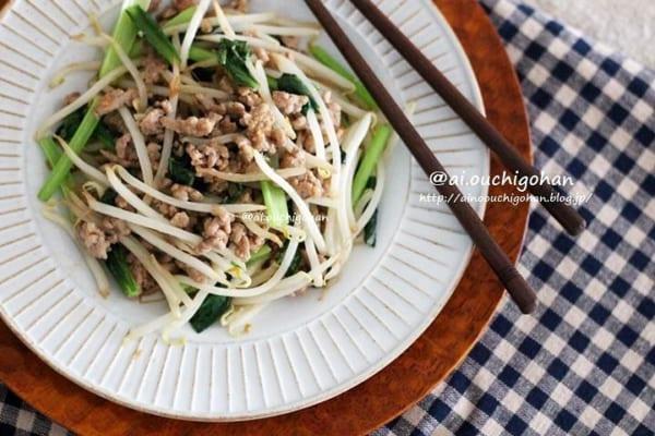豚ひき肉の簡単レシピ7