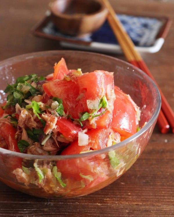 トマトの人気レシピ《前菜・サラダ》12