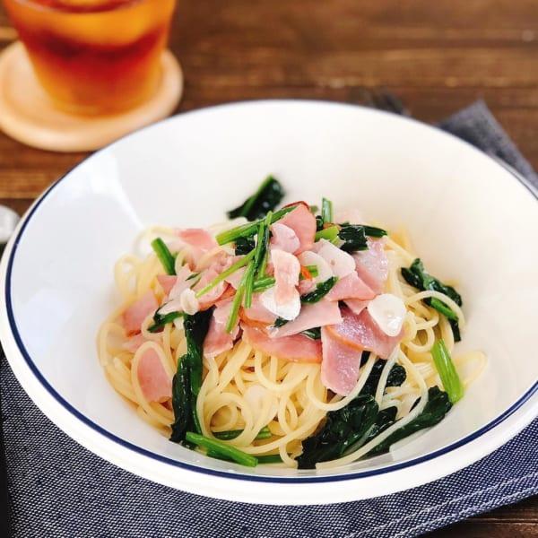 洋食 レシピ パスタ4