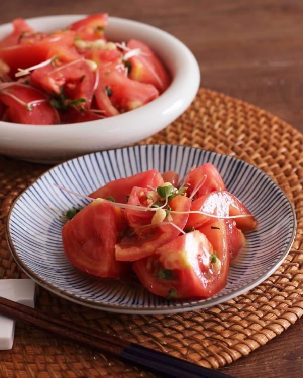トマトの人気レシピ《前菜・サラダ》14