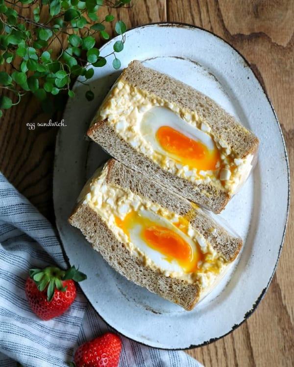 ゆで卵サンド2