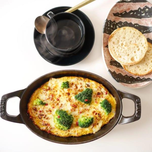 とろけるチーズと野菜の簡単グリル