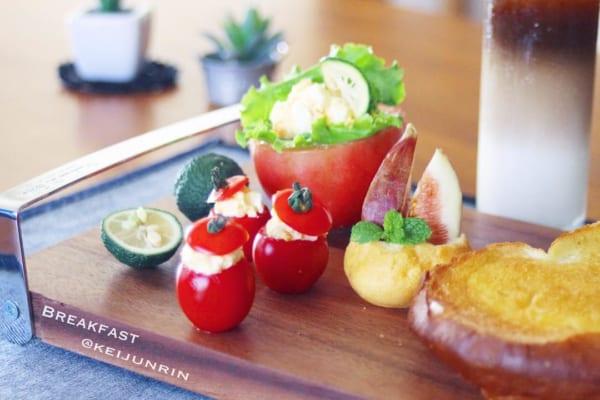 トマトの人気レシピ《前菜・サラダ》17