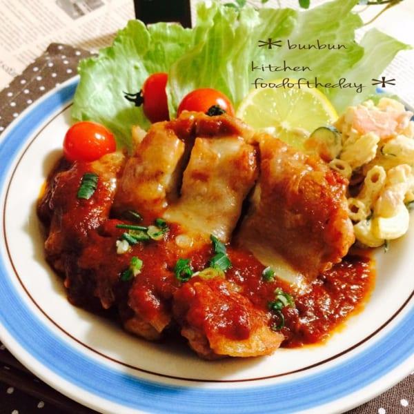 トマトの人気レシピ《洋風メイン》2
