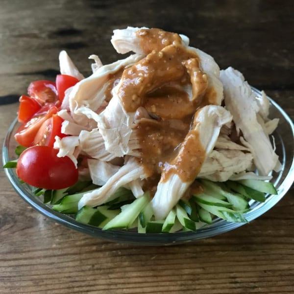 鶏肉 おつまみ 和え物