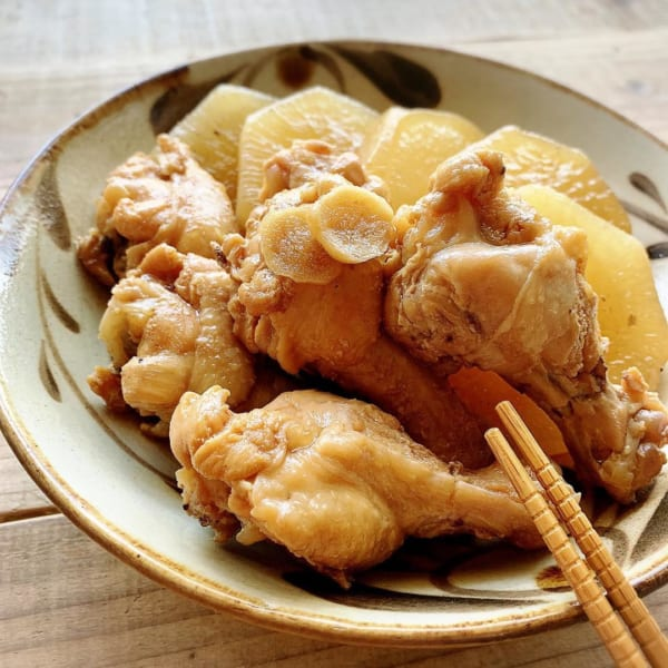 鶏肉 おつまみ 煮物