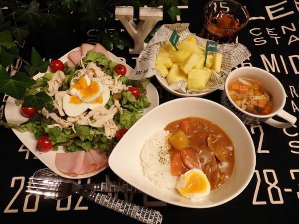 大皿サラダ