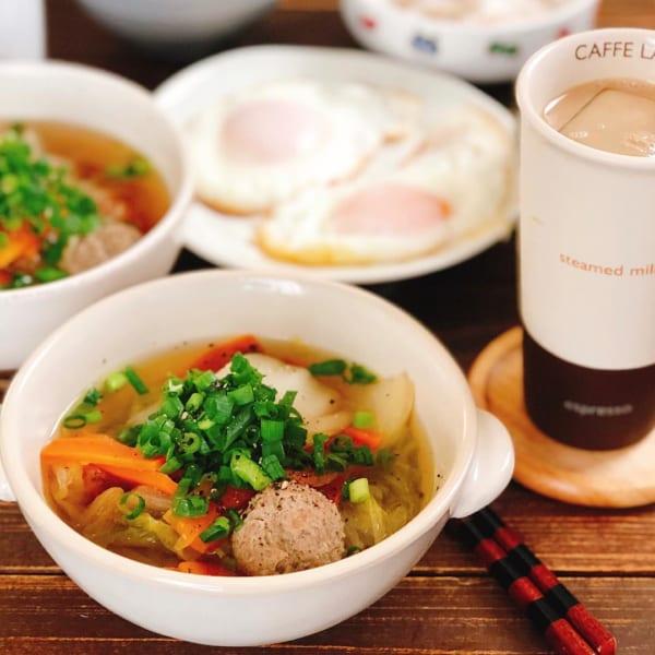 肉団子と野菜のスープ煮