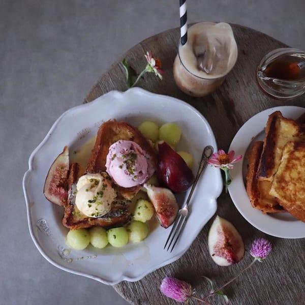 フレンチトースト&フルーツ