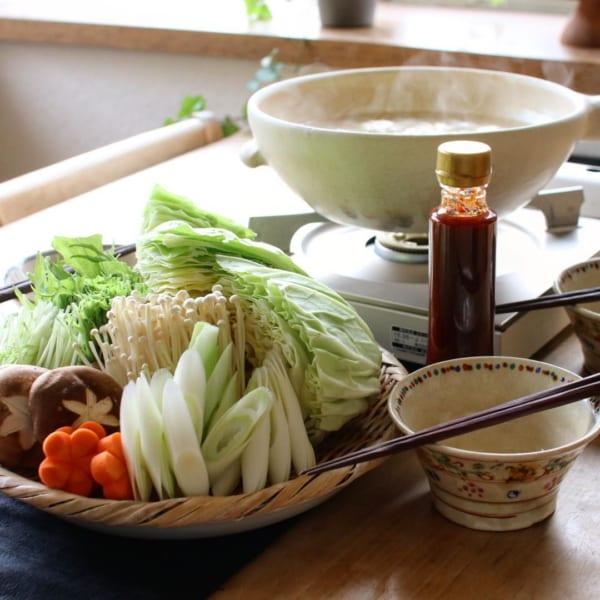 ポン酢でさっぱり!野菜たっぷり人気のタッカンマリ鍋