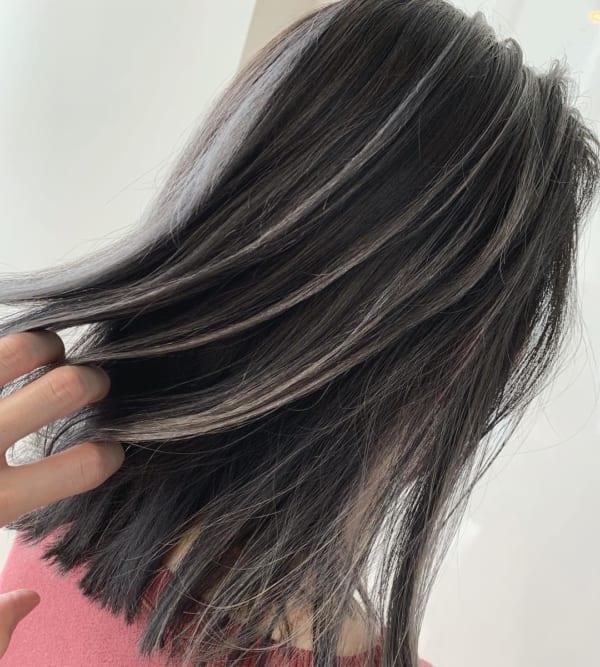 黒髪 グラデーション5