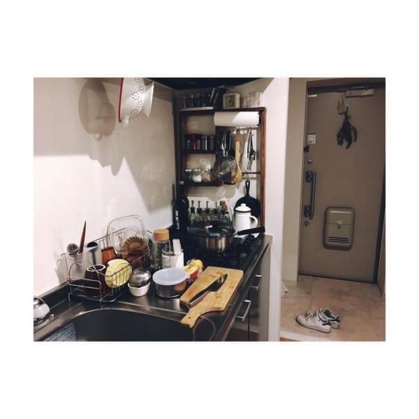 コンパクトなキッチンの収納術2