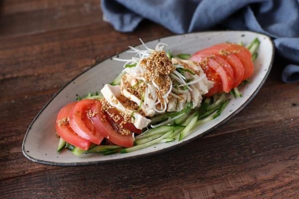 トマトの人気レシピ《中華風メイン》2