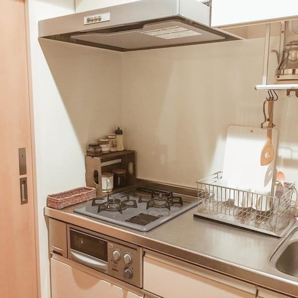 シンプルな一人暮らしキッチン2