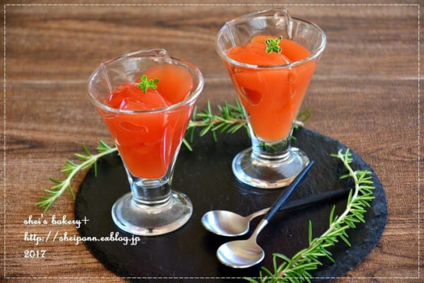 トマトの人気レシピ≪デザート≫