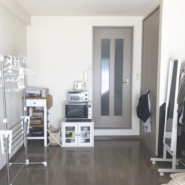 ミニマル1K一人暮らしキッチン4