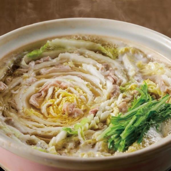 白菜のミルフィーユ鍋