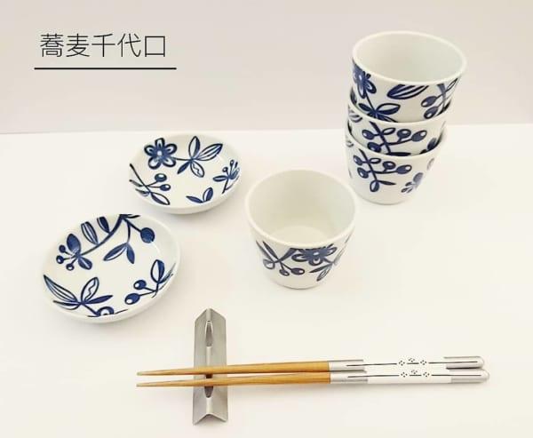 蕎麦千代口・薬味皿(キャンドゥ)