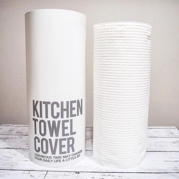 隠してオシャレに使えるキッチンロールペーパーカバー