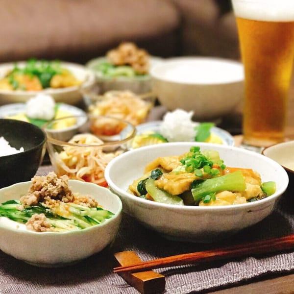 鶏肉とたっぷり野菜のカレー炒め煮