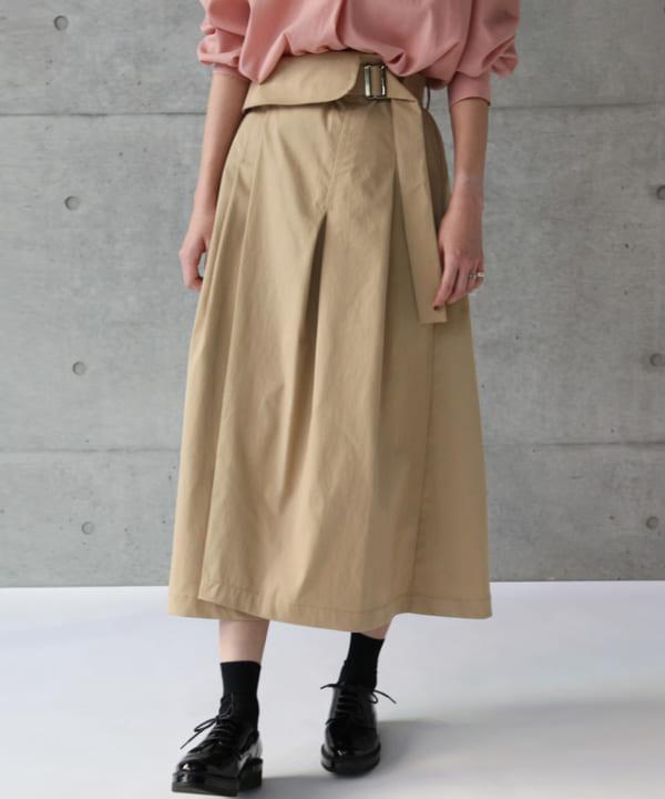 nota della mano sinistra - フラップスカート