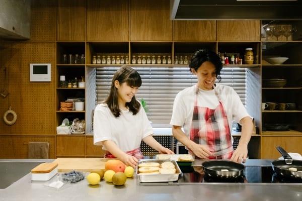 料理家夫妻とこだわりキッチン15